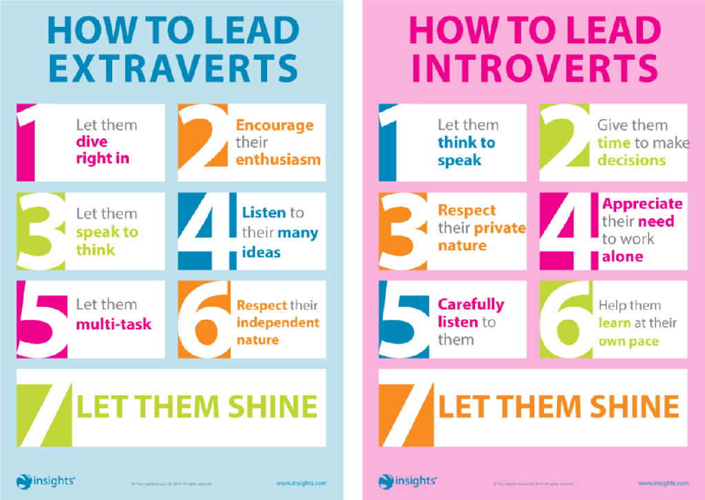 Extravert vs introvert
